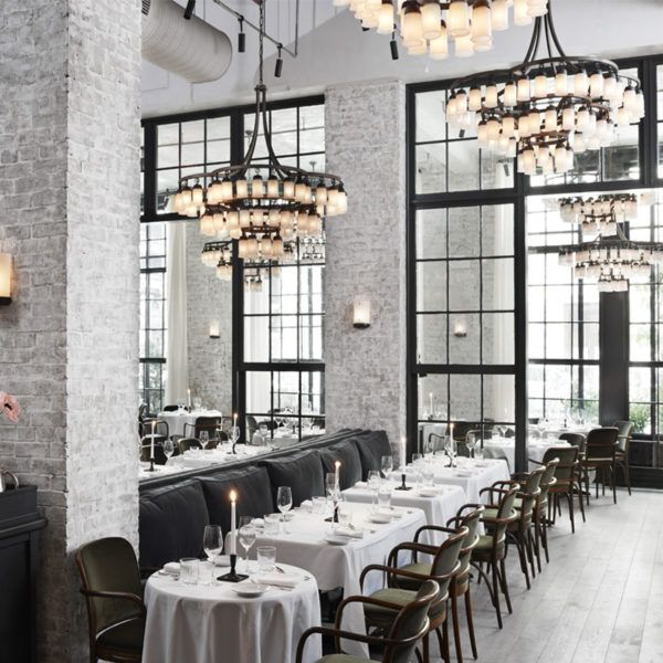 Le Coucou - The breathtakinglystunning Roman and Williams–designed space…