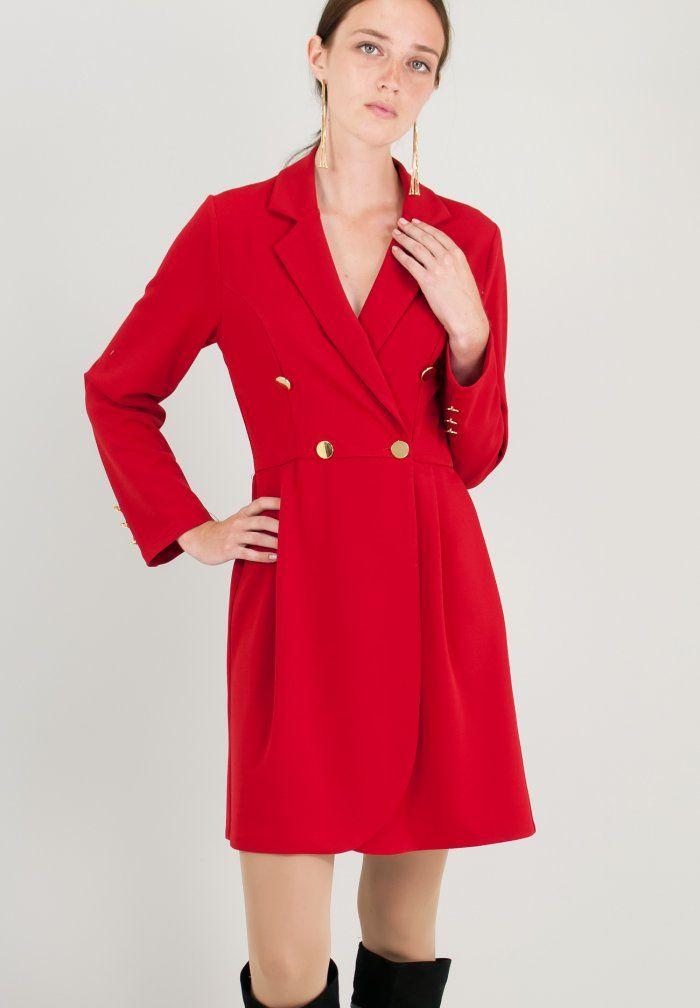 Μίνι φόρεμα σε στιλ σακάκι - ZIC ZAC  252675b37ab