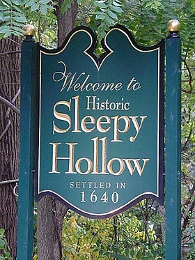 Hallowe'en town: Sleepy Hollow, NY