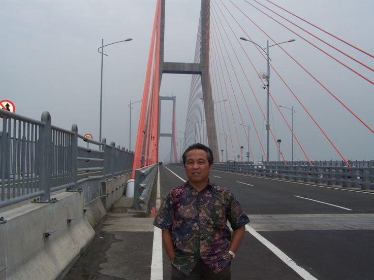 Suramadu Bridge.