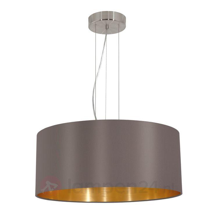 Ronde textiel hanglamp Capri 3031702