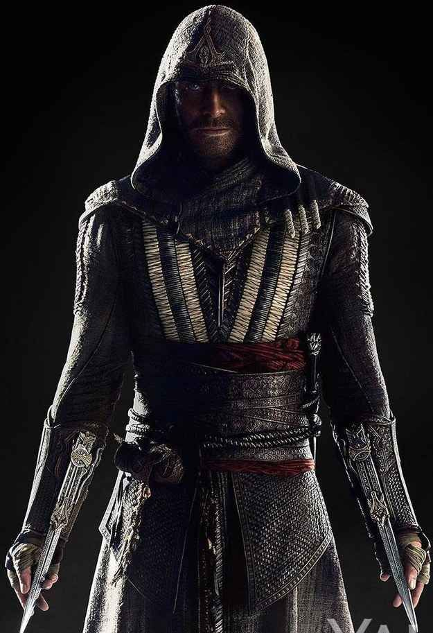 Michael Fassbender. Callum is a character created specifically for the film. He's a descendant of the secret Assassins society, and begins reliving the memories of his 15th Century Spanish ancestor, Aquilar.