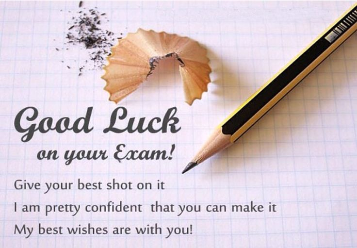 Good Luck On Your Exam Quotes: Luck Quotes, Exam Good Luck