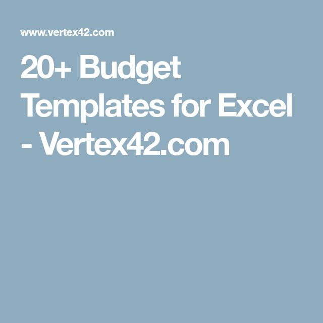Best 25+ Excel budget ideas on Pinterest Budget spreadsheet - excel budget template