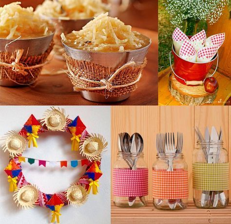 Decoração de festa junina fofa e fácil de fazer (+de 40 fotos!)