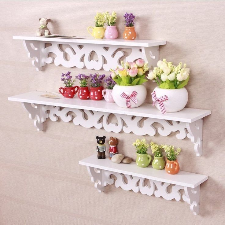 Filigree Shabby Chic Set Of 3 Floating Shelves. Visit us now and ENJOY 10% OFF + FREE SHIPPING on all orders
