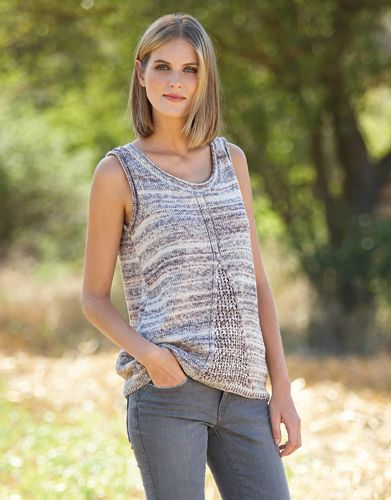 Book Woman 81 Spring / Summer | 53: Woman Top | Beige-Grey