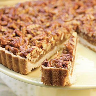 Caramel-Pecan Tart - Classic Pecan Pie Recipes - Southern Living