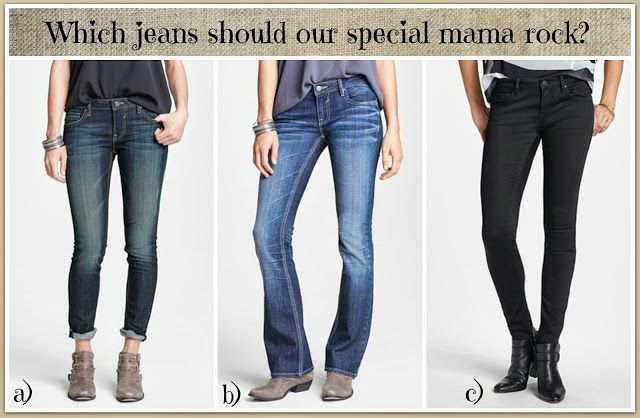 Come vote for the jeans that our special mama needs!