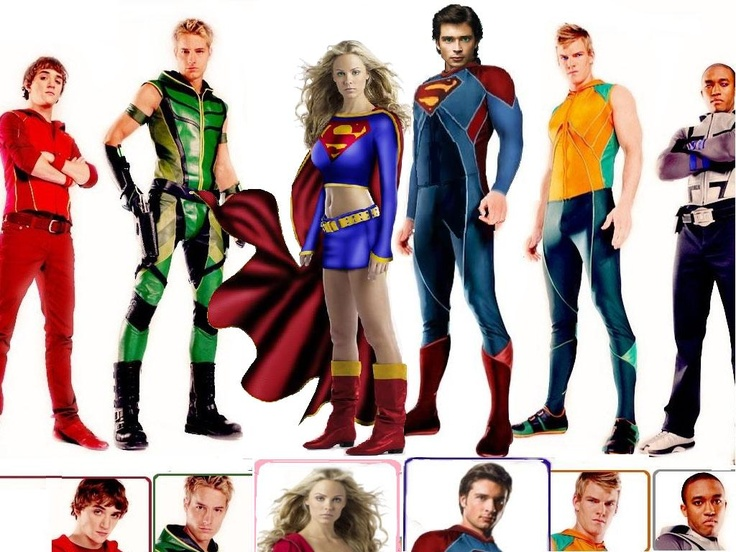 smallville_justice_league  Miss Smallville