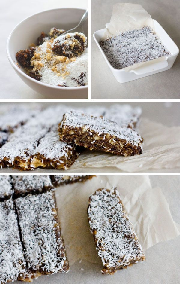 prune walnut and coconut bars more walnut bars coconut bars bar ...