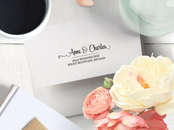 Calligraphy Wedding Gift Formal Wedding Invitation by GulfRoad