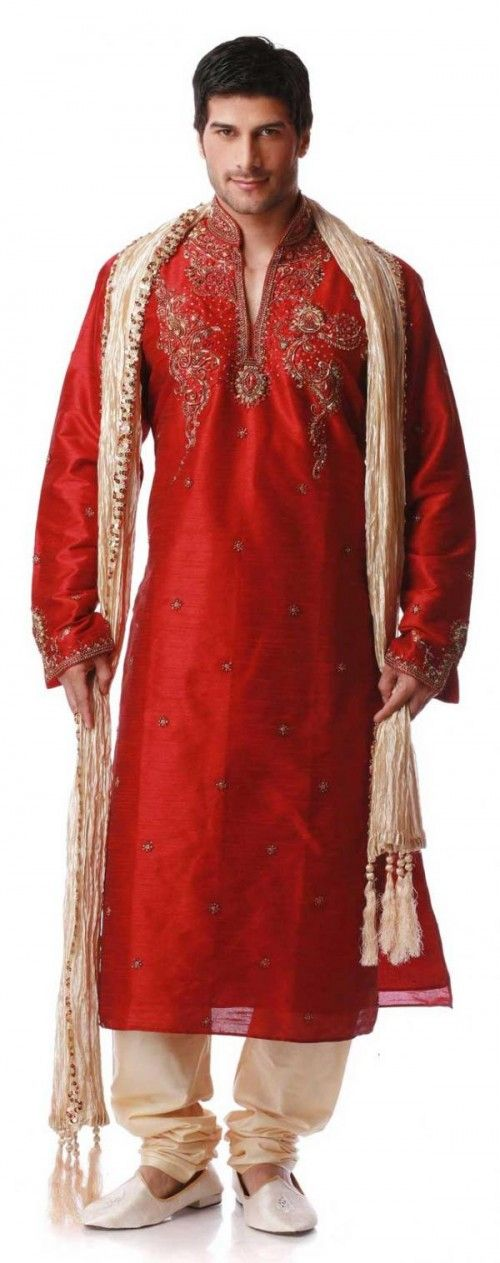 indian outfits for men for weddings | Sherwani — Traditional Indian Wedding Dresses for Men