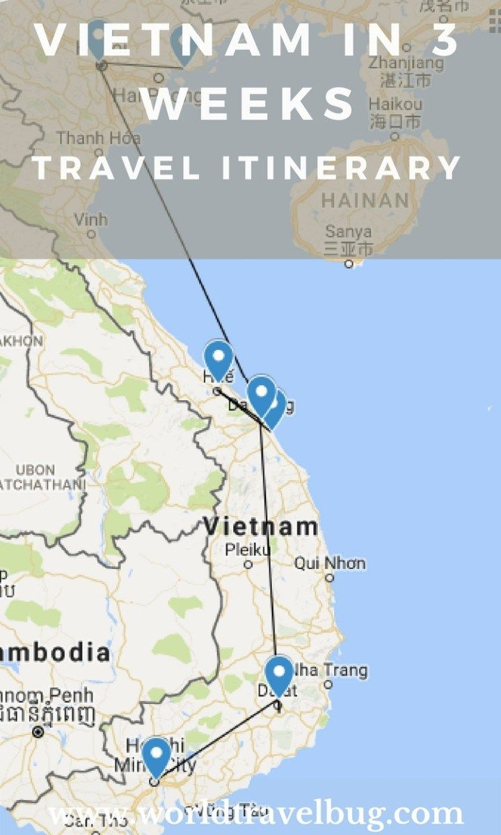 An excellent 3 weeks Vietnam travel itinerary for many types of travellers