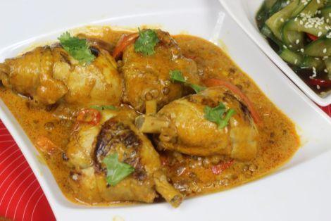 Jak przygotować kurczaka za soczewica i mlekiem po Tajsku - Przepis Video