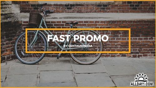 Fast promo 19313951 - Project for After Effects (Videohive)