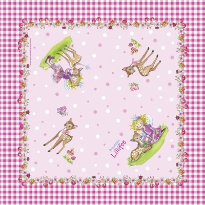 Papieren Servetten Prinses Lillifee
