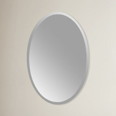 Found it at Wayfair - Frameless Wall Mirror