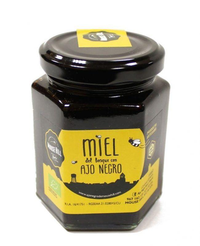 Miel del Bosque Ecológica con Ajo Negro Bio, 240g