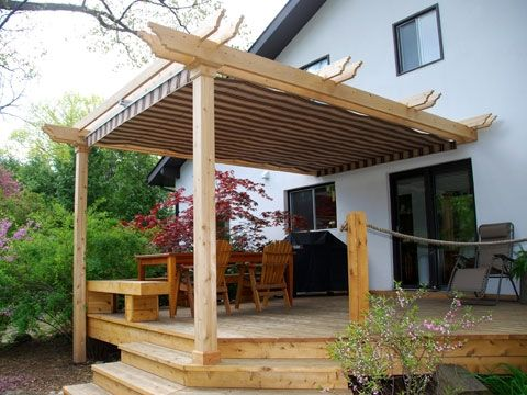 Deck Awning Ideas Diy Patio Shade