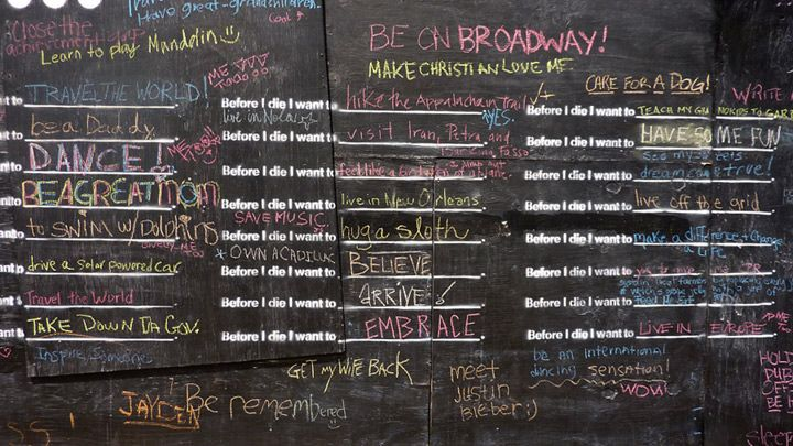 Before I die Project