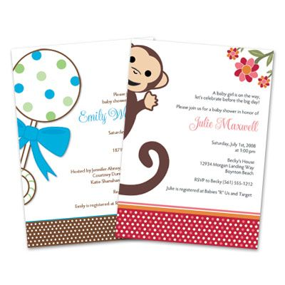 9 best Unique Baby Shower Invitations images on Pinterest Unique - how to word baby shower invitations