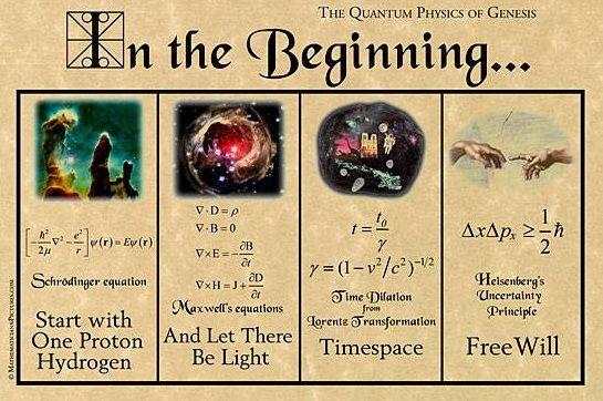 historia del Universo versionada en ecuaciones