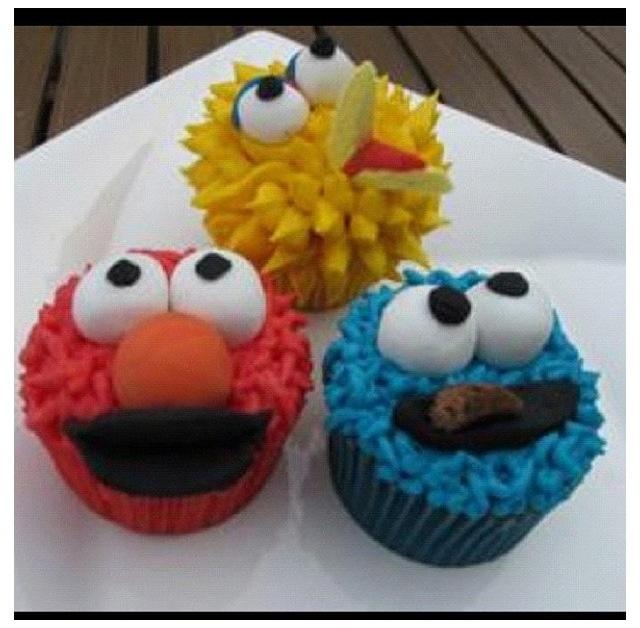 Sesame Street Cupcakez!