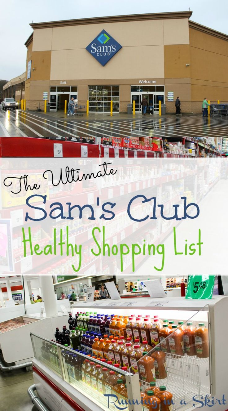 The Ultimate Healthy Sam's Club Shopping List - best clean eating options in bulk! | Running in a Skirt #SamsClubMag #CollectiveBias #ad