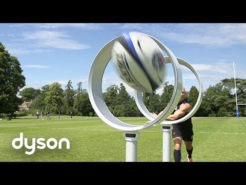 Dyson tackles a different kind of Ball technology with Bath Rugby - Official Dyson Video - YouTube