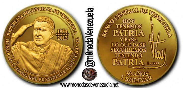 Moneda Conmemorativa en Honor al Legado del Presidente Hugo Chávez