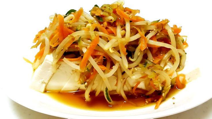豆腐のもやし中華サラダ☆ by クレラッコ [クックパッド] 簡単おいしいみんなのレシピが228万品