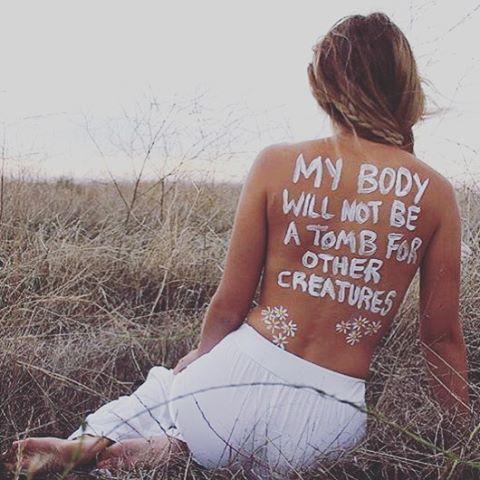 Damn straight it won't be!  ✨ #vegan  @taneeka_annice