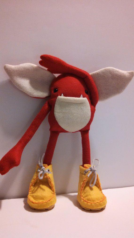 Kids Toys Plush Stuffed Monster Doll Goblin Troll Elf Weeglin    Jypsen    AS SEEN IN 2014 STUFFED MAGAZINE VOLUME 7, ISSUE 2 (AUTUMN 2014)