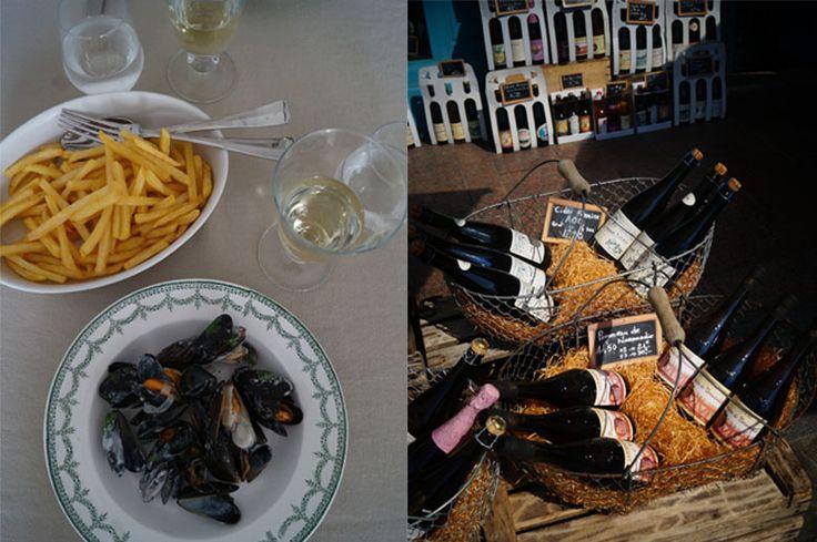Normandische mosselen zijn gemaakt met Calvados en crème fraiche. Ik heb de mosselen op vakantie in Frankrijk gegeten en toen zelf het recept gemaakt.