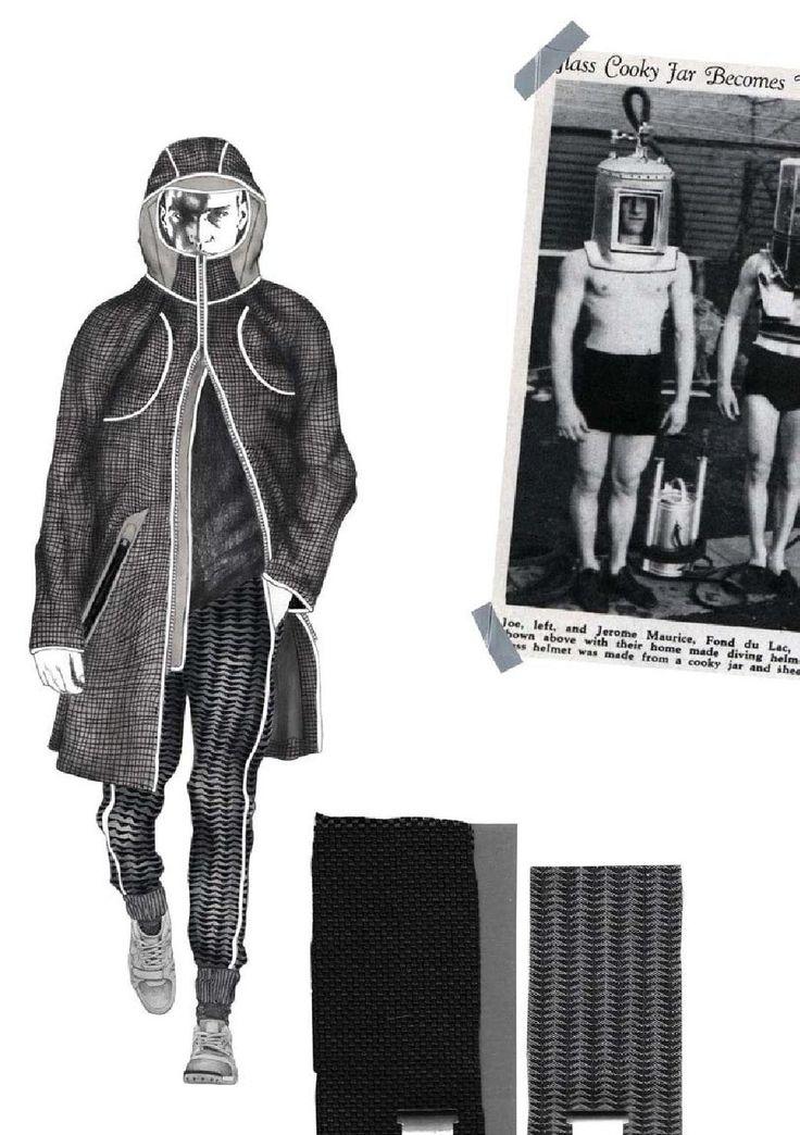 Fashion Sketchbook - fashion design development; fashion student portfolio // Georgia Mottershead