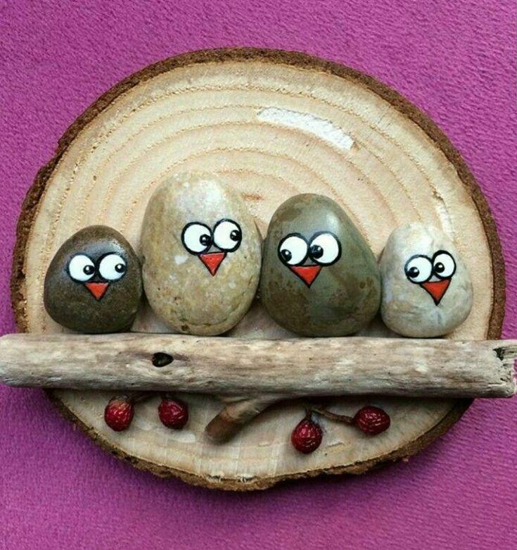 Owl stone craft