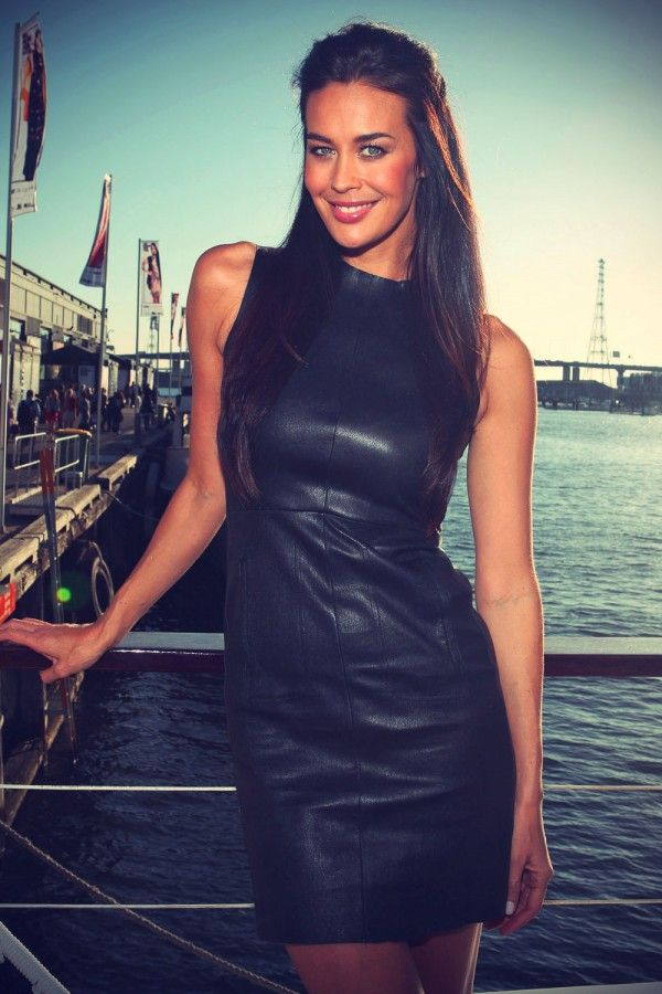 Megan Gale LOreal Paris Boat pre show  2012                                                                                                                                                                                 More
