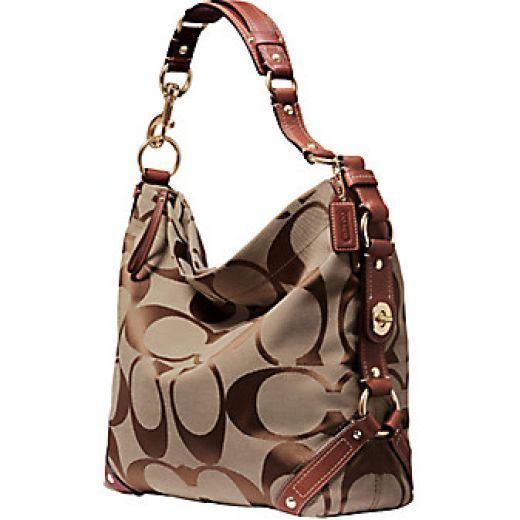Coach handbag. I have this, but mine has the red straps