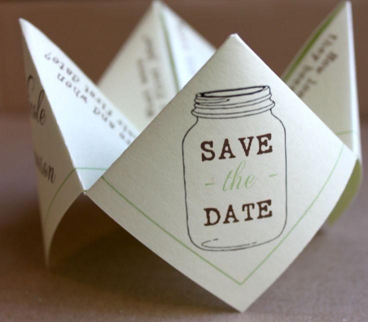 15 Amazing ideas for seriously creative save the dates 2016!