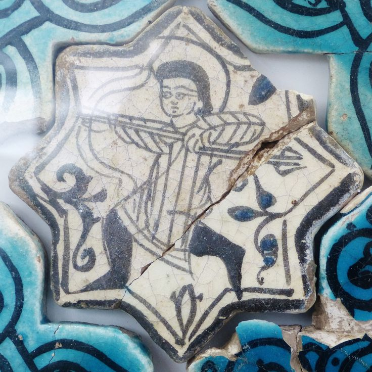 Kubadabad Palace tiles- Konya Karatay Museum  Seljuk ...