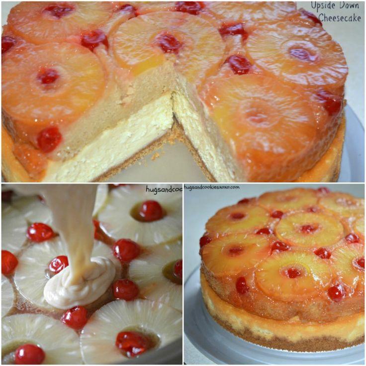Bizcoflan de piña y tarta e queso