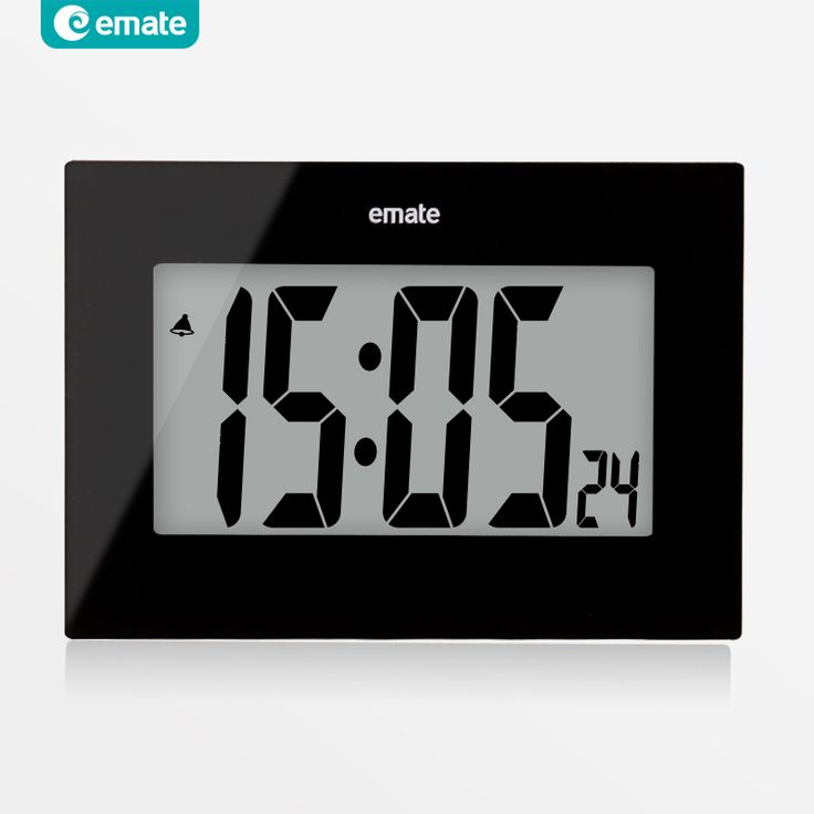 ==> [Free Shipping] Buy Best Large LED screen digital alarm clock snooze home design electronic modern LCD table clock fashion watch wall relogio digital 24 Online with LOWEST Price | 32266239381