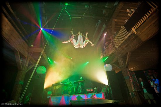 Aspiring circus performers will find refuge and training at Emerald City Trapeze, Seattle's home for the aerial arts.