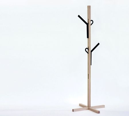 Coat hanger by Takashi Sato