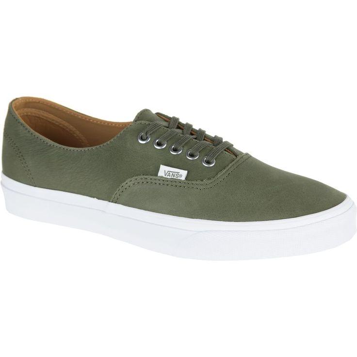 Vans - Authentic Decon Shoe - (premium Leather) Grape Leaf/True White
