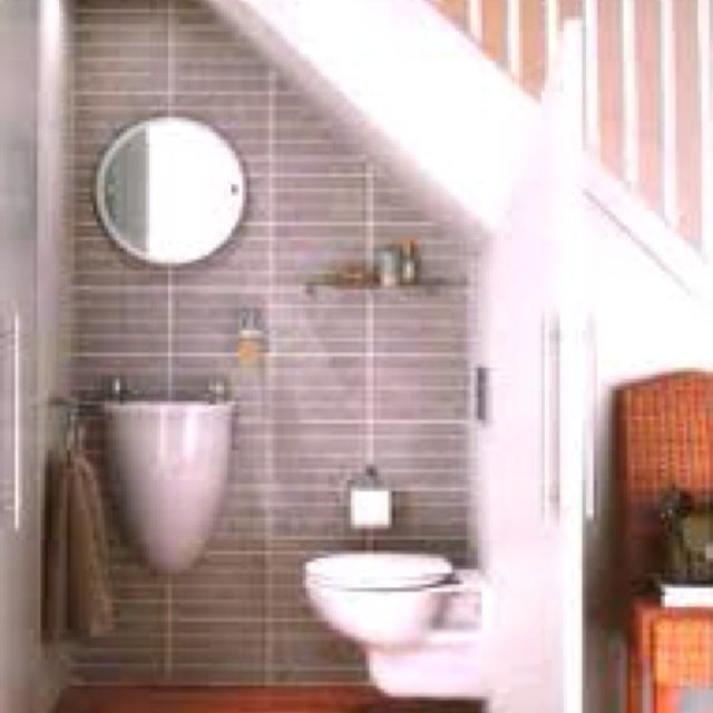 1000 images about favorite places spaces on pinterest for Half bathroom designs small spaces