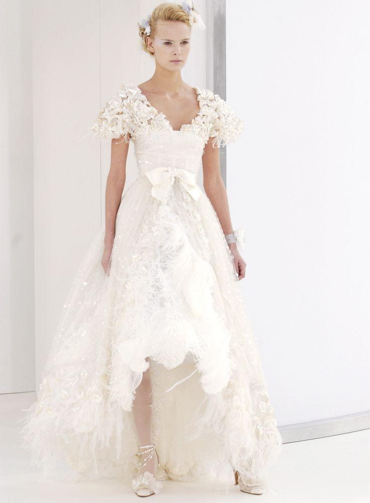 558 best Wedding Gowns & Veils images on Pinterest | Short wedding ...