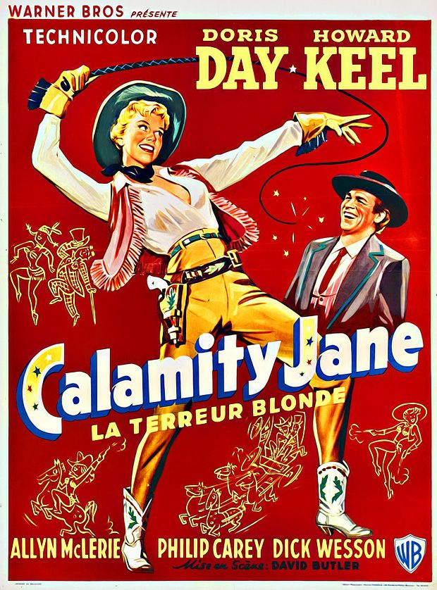 I truly adore Doris Day and I love anything with Howard Keel, so it's a win-win movie. :)
