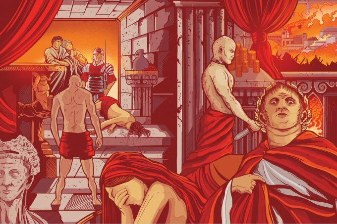 Nero, o imperador romano insano